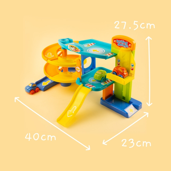Toy Garage and Cars Play Set