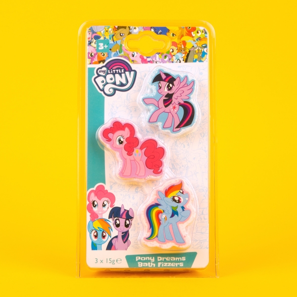 My Little Pony Kids' Bath Fizzers 3pk