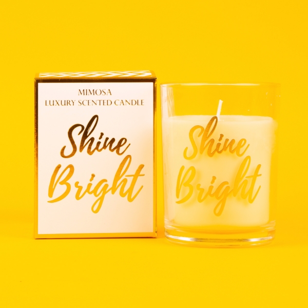 **NEW** Candlelight Scented Box Candle 22g - Shine Bright
