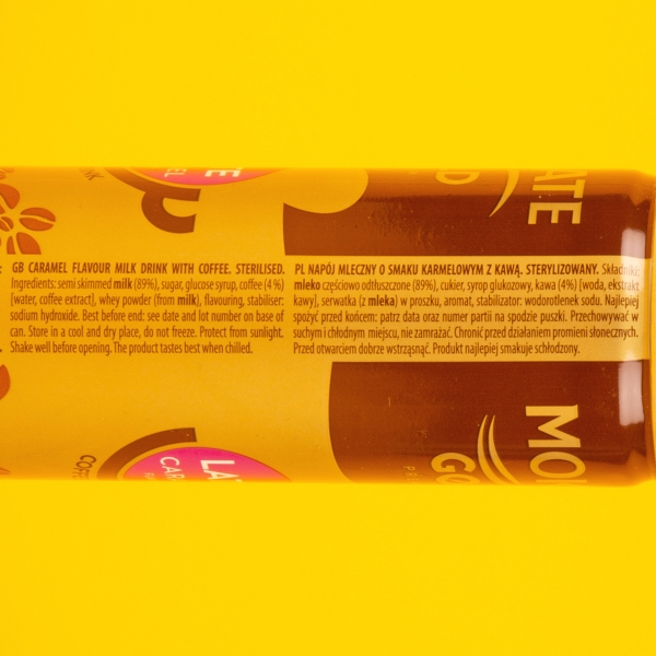 **NEW** Mokate Gold Iced Coffee Can 250ml - Latte Caramel