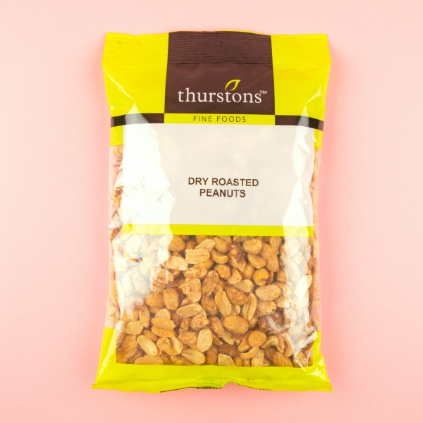 **NEW** Thurstons Dry Roasted Peanuts 250g