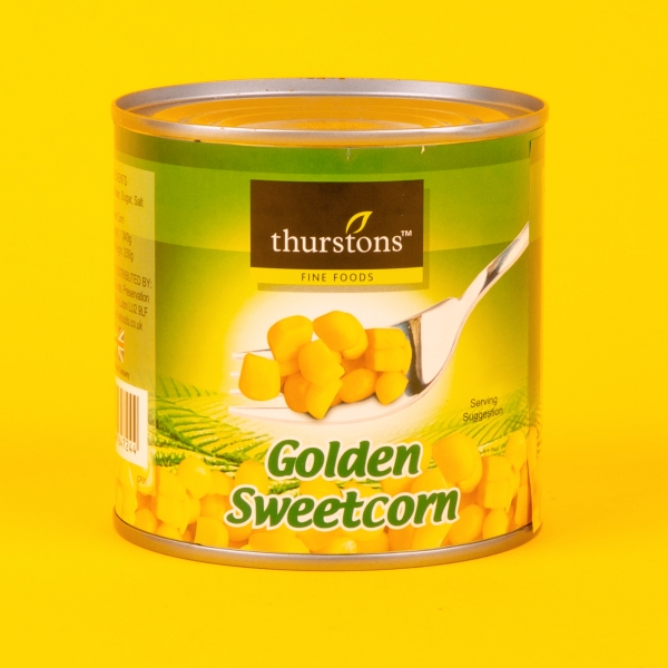**NEW** Thurstons Tinned Golden Sweetcorn 340g