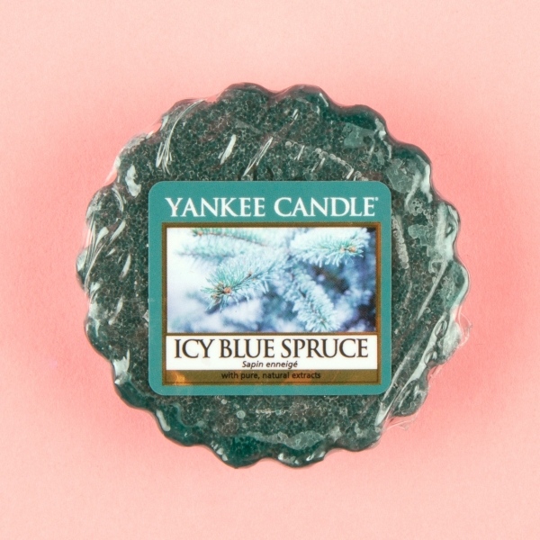 **NEW** Yankee Candle Wax Melt 22g - Icy Blue Spruce