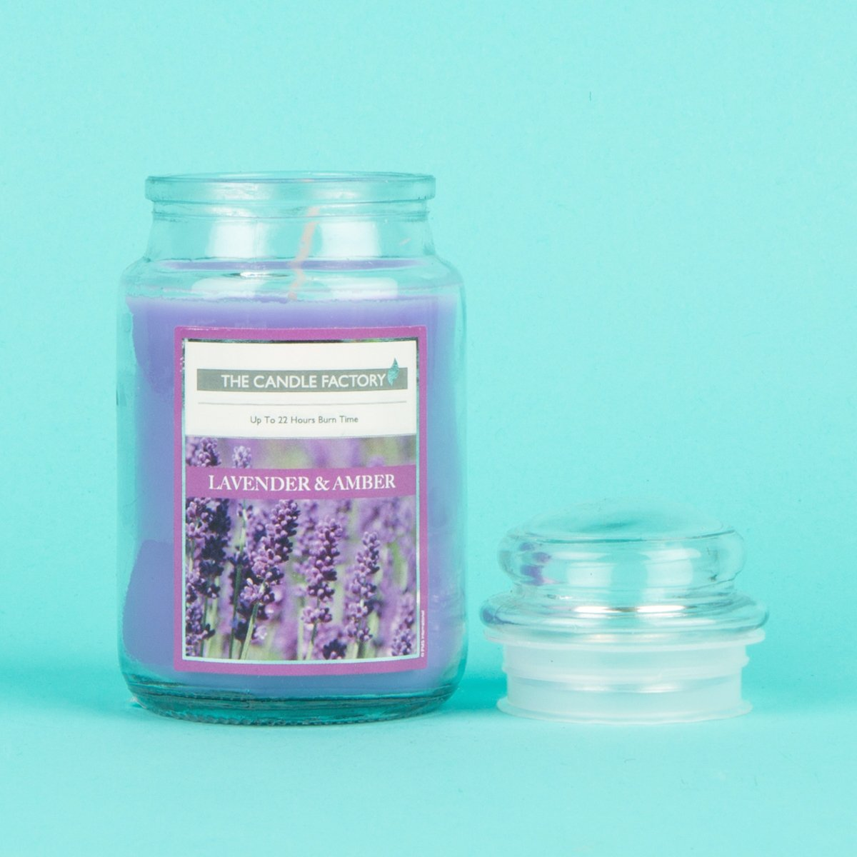Everyday Scented Jar Candle 5oz Lavender Amber Cherryz