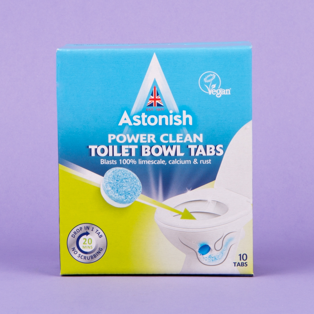 Astonish power clean toilet bowl tablets, 10 pack