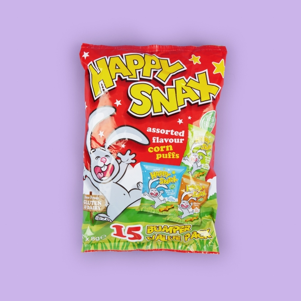 Happy Snax Crisps Assorted Flavours 15 Pack