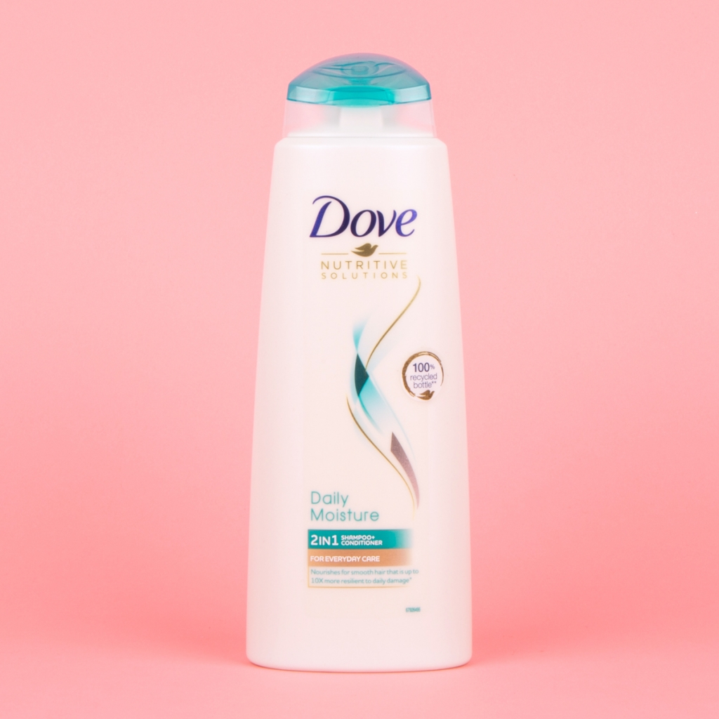 Dove 2in1 shampoo and conditioner bottle 400ml