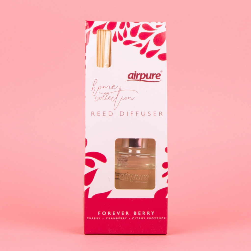 Air Pure Home Collection Reed Diffuser Forever Berry