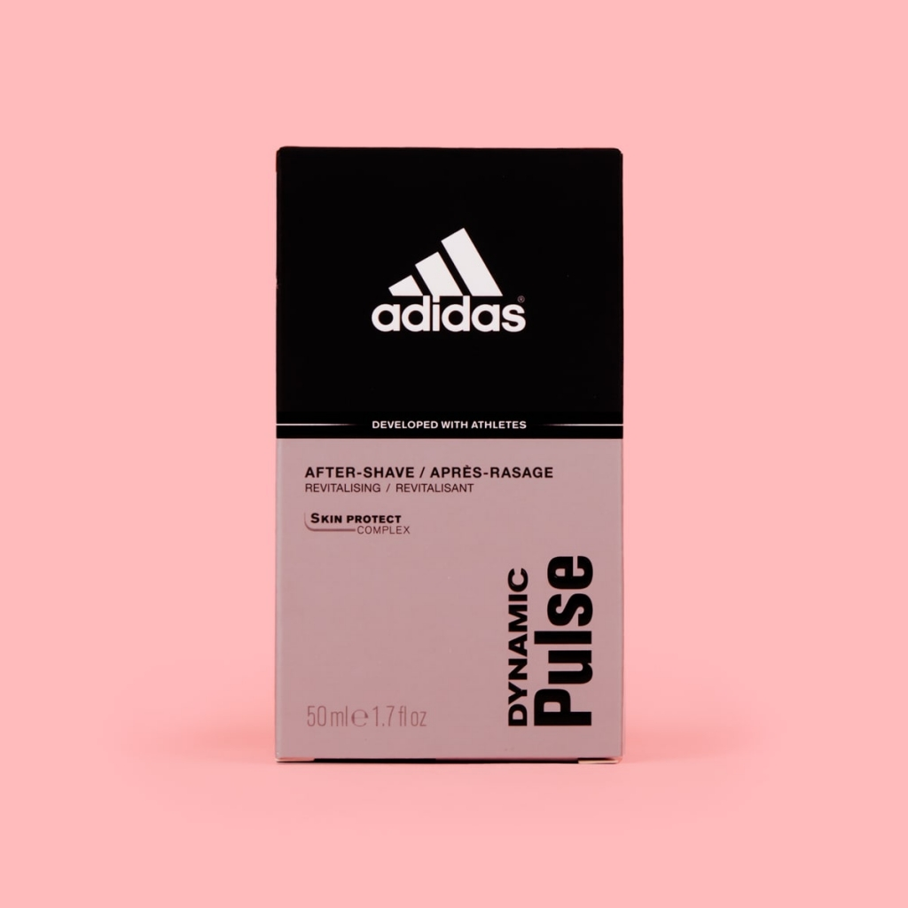 adidas pulse aftershave packet