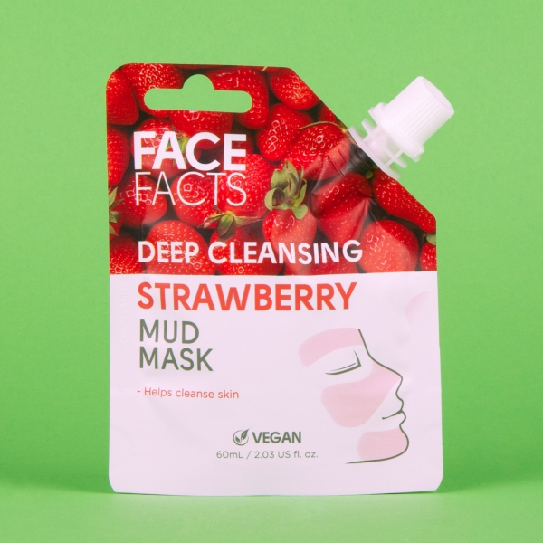 face facts strawberry mud mask