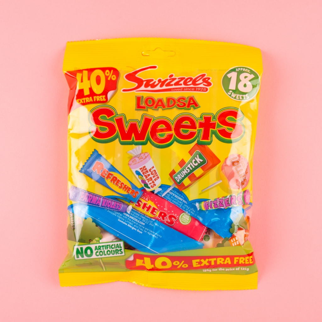 swizzels packet assorted sweets