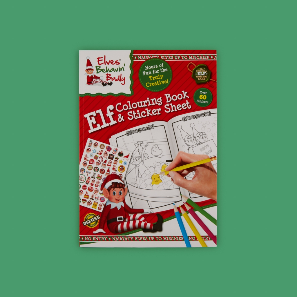 extra large kids christmas activity book